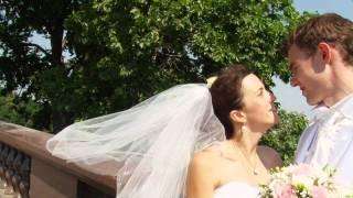 Свадебный клип Жених упал в Царицынский пруд