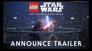 lEGO Star Wars: The Skywalker Saga - ТРЕЙЛЕР l РЕАКЦИЯ