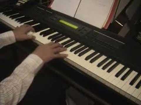 Ostinato Improvisation on Piano
