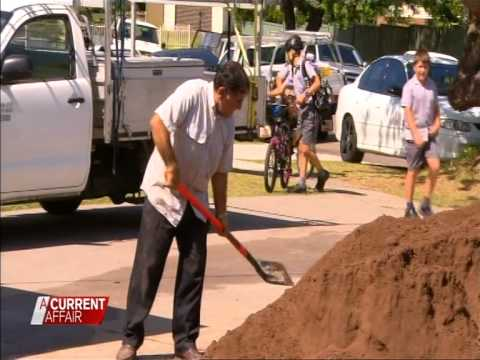 Western Sydney Special Charity Renovation Event, Courtesy A Current Affair, Channel 9 (Part 1)