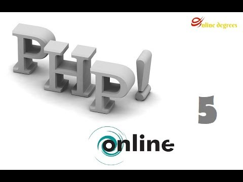 Online Degrees: PHP Online 5  Variables, Assignment Operators, and Concatenation Operators