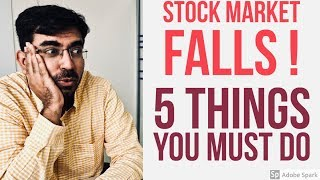 शेयर बाजार Down | 5 Tips | What do do when Share Market falls?