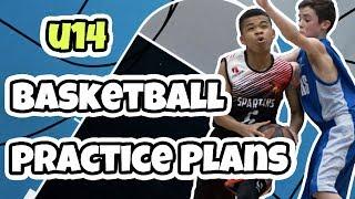 U14 Basketball Practice Plan For Basketball Defense Drills