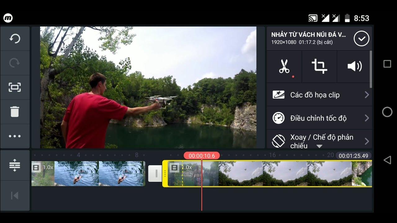 làm đoạn video quay chậm SLOWMOTION trên điện thoại cực dễ | edit video