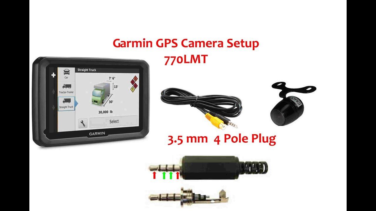 hight resolution of garmin 770 lmt backup camera 3 5 4 pole plug pinout