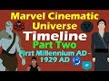 Marvel Cinematic Universe: Timeline (Part 2 - Updated)