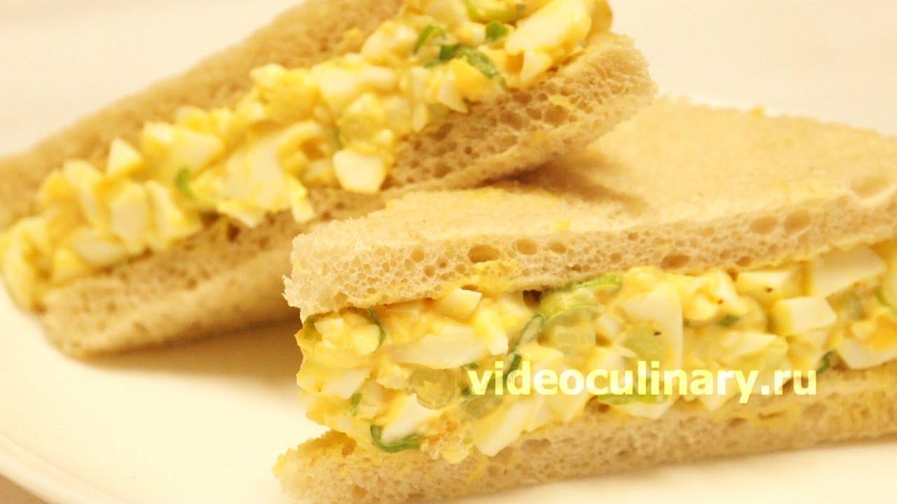 салат яичный рецепт с фото