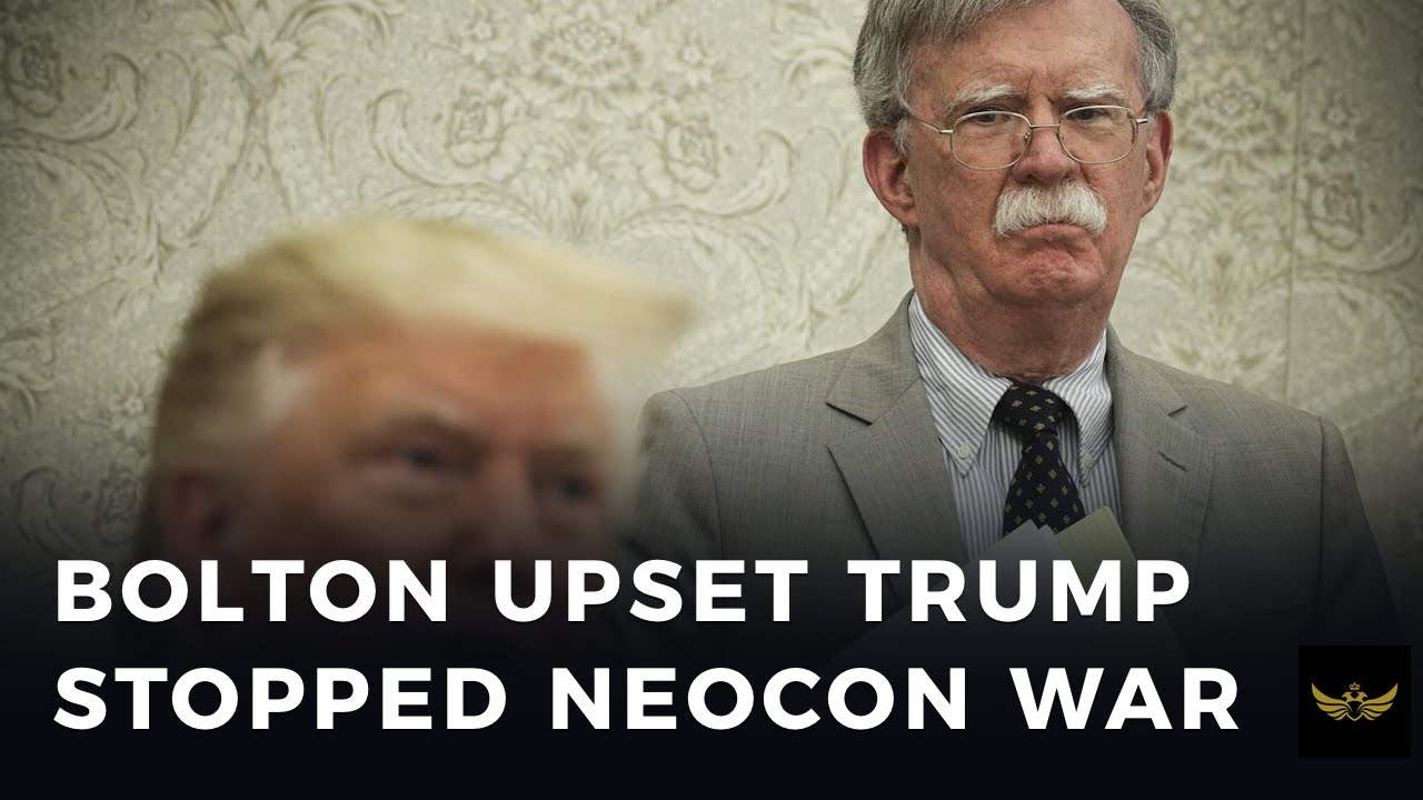 'Wacko' Bolton book reveals Trump refused to go to war, pissing off the SWAMP