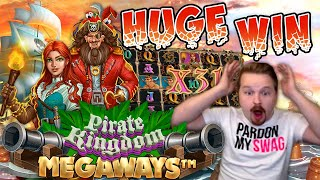 HUGE WIN In New Pirate Kingdom Megaways