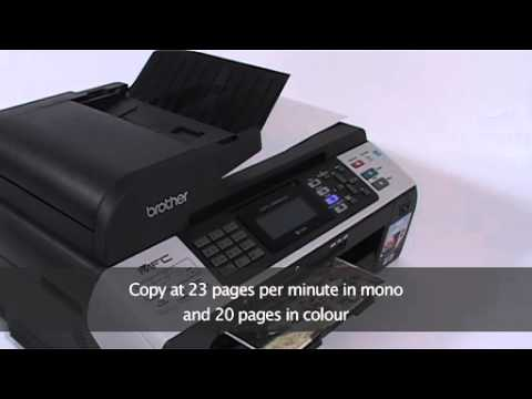 Brother MFC 5890CN Network Ready A3 Colour Inkjet ...