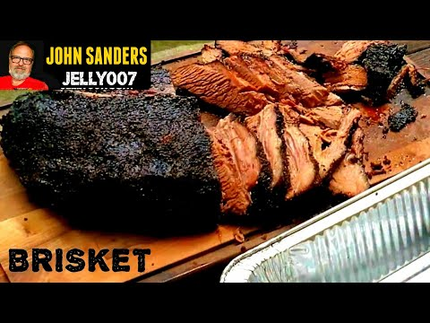 USDA PRIME BRISKET BIG GREEN EGG 12 Hour Cook using a MEATER & Aaron Franklin method detailed how to
