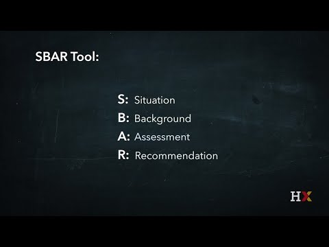 Institute For Healthcare Improvement SBAR Tool Situation