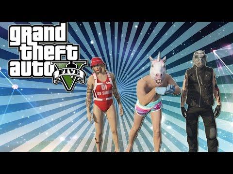 Grant Theft Auto 5 Hilarious Moments (Mortal kombat, Sexy Unicorn, I AM CONFUSION!)