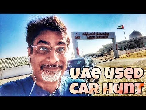 Cool Car Hunt in the UAE!