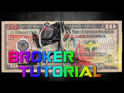 DCUO - How To Use The Broker in DC Universe Online