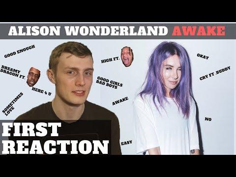 Alison Wonderland - Awake FIRST REACTION
