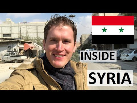 Getting into Syria