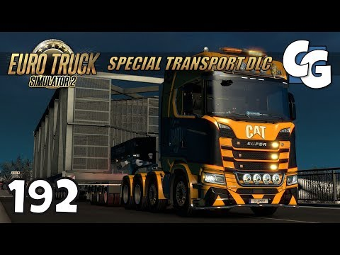 ETS2 - Ep. 192 - 50T Construction Staircase - ETS2 Special Transport DLC Gameplay
