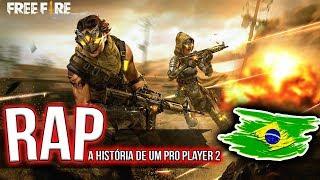 RAP - A HISTÓRIA DE UM PRO PLAYER 2 (BASEADO EM FATOS REAIS) - FREE FIRE | BLACKSAGARO