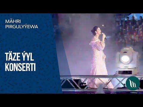 Mähri Pirgulyýewa - Täze ýyl konserti   2019
