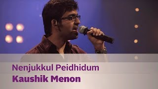 Download Nenjukkul Peidhidum - Kaushik Menon - Music Mojo Season 2 - KappaTV MP3 song and Music Video