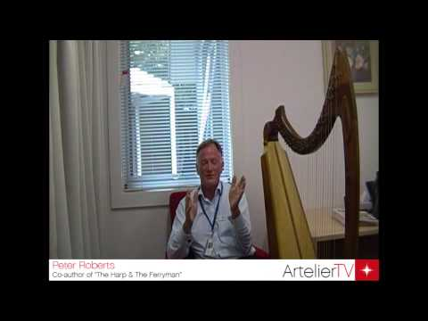 """THE ZONE SERIES - Peter Roberts, co-author of """"The Harp and The Ferryman"""""""
