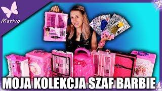 NOWA SZAFA DLA BARBIE - MOJA KOLEKCJA I NOWE UBRANKA * Unboxing lalkami Ubranka Akcesoria Specjał #3