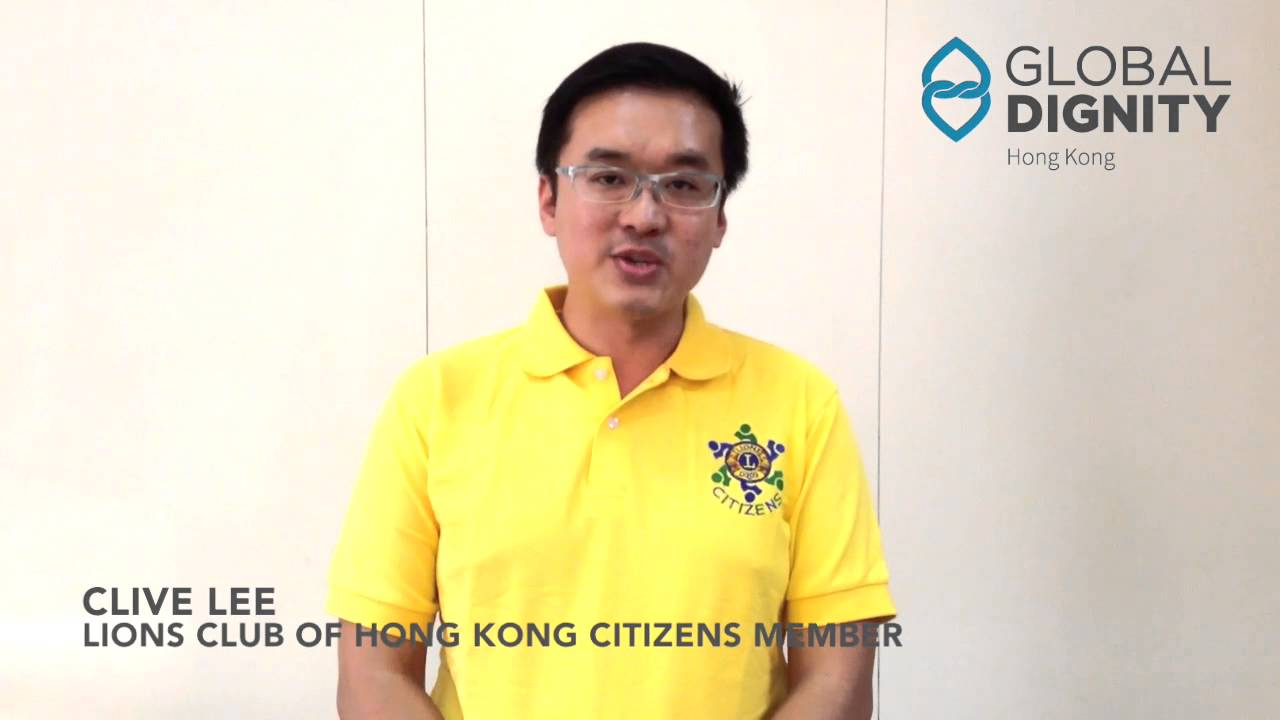 Global Dignity Day 2015 - Clive Lee李家倫先生- YouTube