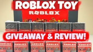 CLOSED:ROBLOX MYSTERY TOY BOX FIGURE ASSORTMENT SERIES 1 GIVEAWAY and Roblox Toy Review Unboxing