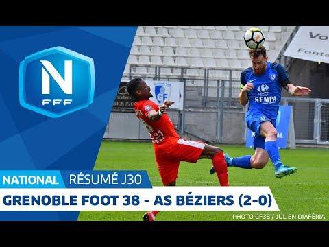 J30 : Grenoble Foot 38 - AS Béziers 2 0, le résumé I National FFF 2018