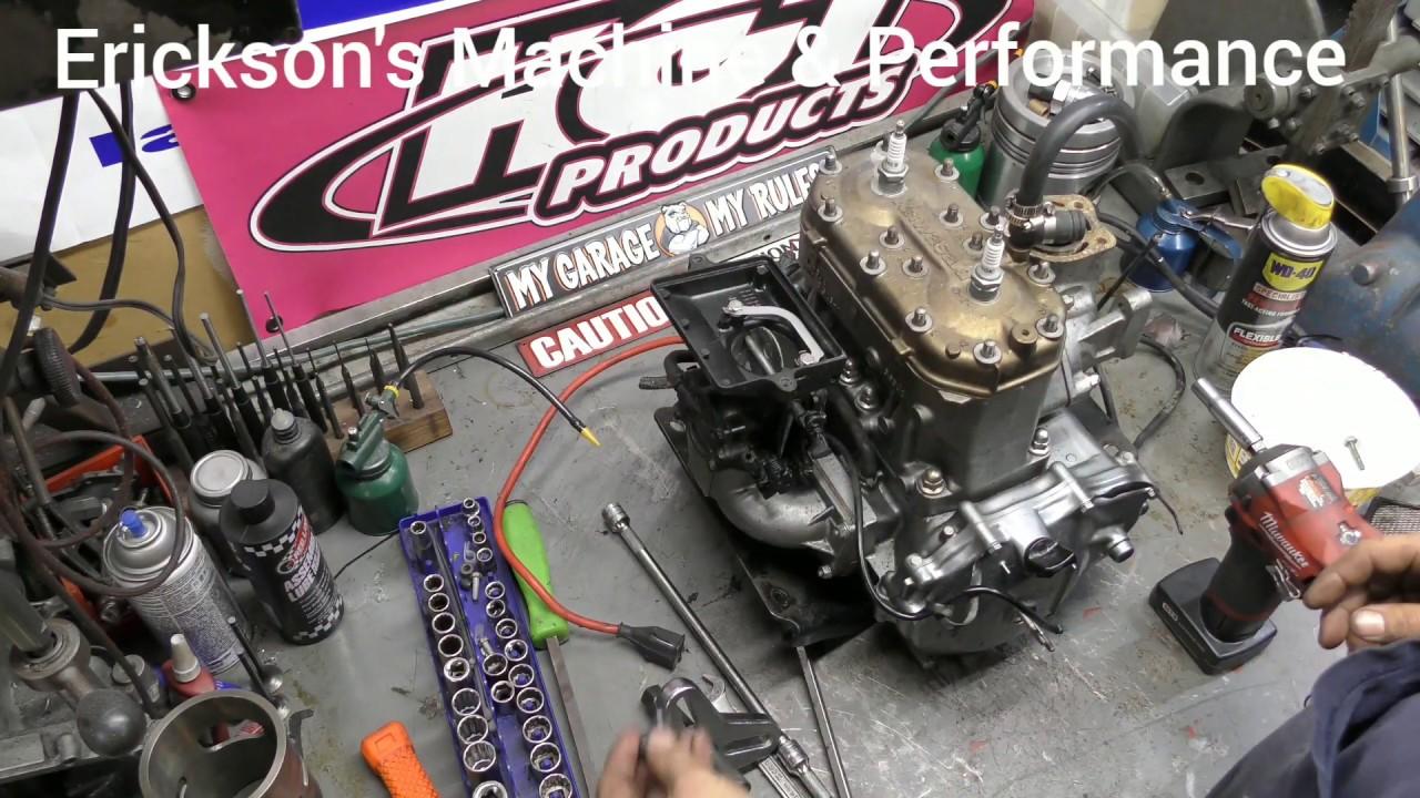 Kawasaki 650 sx / X2 / SC / Ts engine disassembly / teardown - YouTubeYouTube