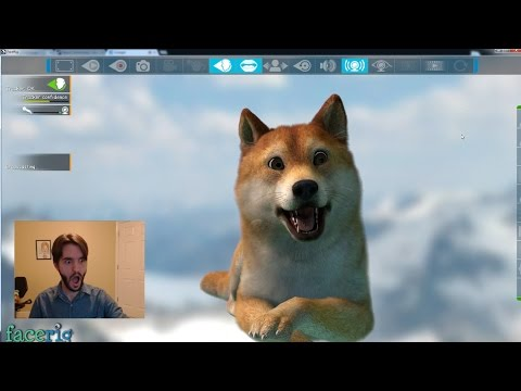 FaceRig: Avatars, Features, and Omegle-ing
