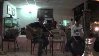 Xinh tươi Việt Nam- V.Music cover by Tri Tâm, cajon: Quân tại cafe Thủy Viên