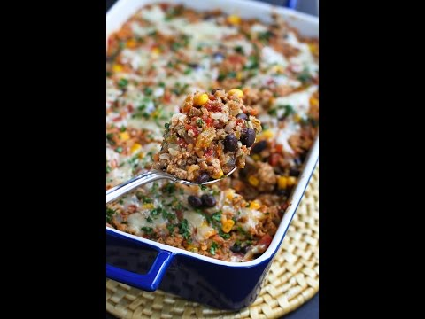Southwestern Turkey & Rice Casserole