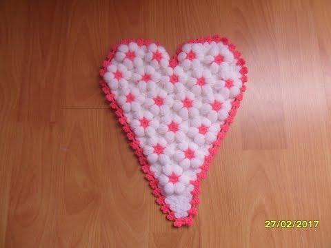 Çiçekli Kalp Lif Yapımı ( 1.Bölüm )