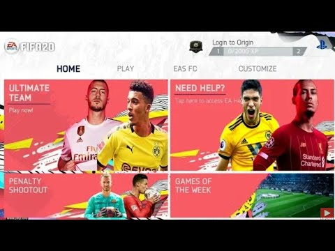 (600MB)FIFA20 Mod FIFA14 Android Offline New Face New Kits 2020 & New  Transfers Update Best Graphics