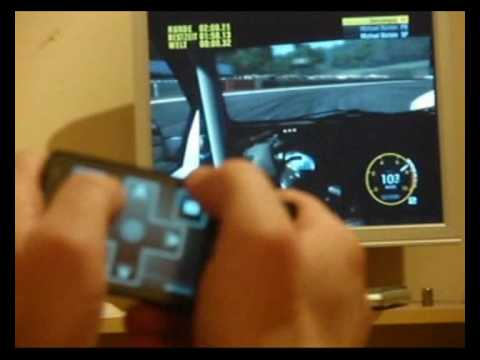 gremote Race Driver Grid with O2 XDA Diamond Pro / HTC Touch Pro