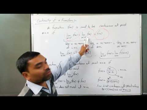 Continuity  of Function in hindi (Lecture 1)
