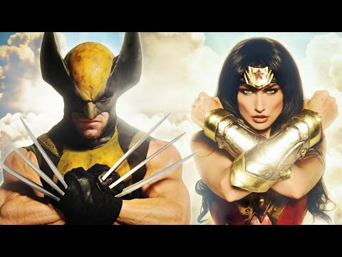 WONDER WOMAN vs WOLVERINE - Super Power Beat Down (Episode 20)