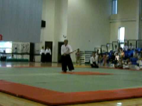 合氣道 中正盃aikido (19)王天保 合氣杖31式