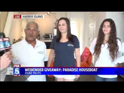 Zolna Yachts on Fox 5 News - Segment 1