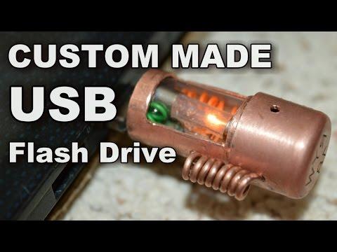 Make A Custom USB Flash Drive - Steampunk