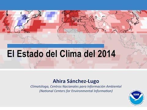 CM Webinar - State of the Climate Español