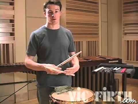 concert snare 8 roll fundamentals vic firth percussion 101 youtube. Black Bedroom Furniture Sets. Home Design Ideas