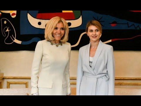 Брижит Макрон поразила всех своей красотой на саммите «Большой двадцатки»