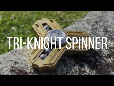 Honest Review: HEAVY SOLID BRASS SPINNER - TRI KNIGHT