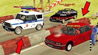 BMW VS УАЗ ПОЛИЦИЯ! Я НА ГОНКАХ!  - GTA RP 02 #6