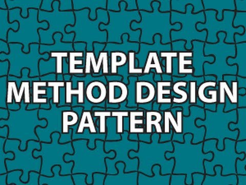 Template method design pattern youtube template method design pattern maxwellsz
