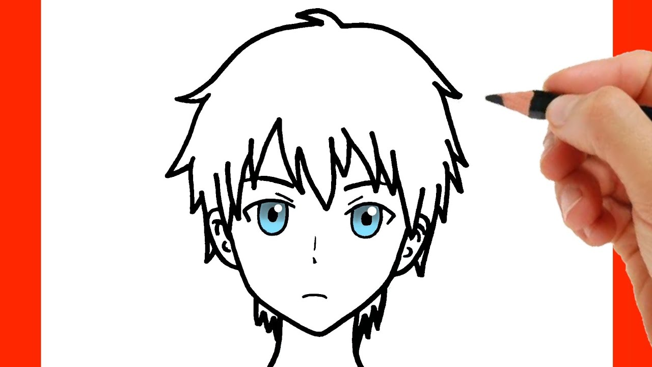 Cómo Dibujar Un Niño Como Dibujar Anime Paso A Paso Youtube