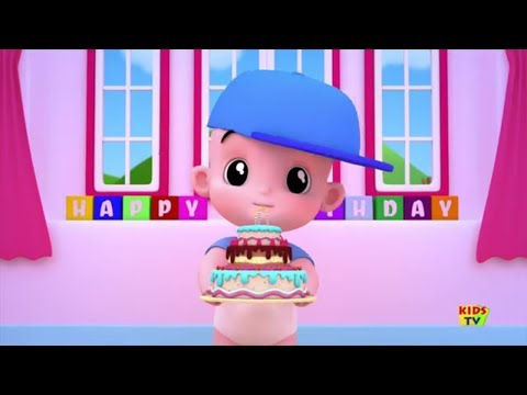Happy Birthday Song | Birthday Wishes | Happy Birthday To You | Kids Tv Junior Squad Cartoons